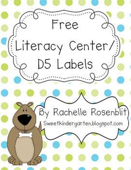 *FREE* Literacy Center Icons