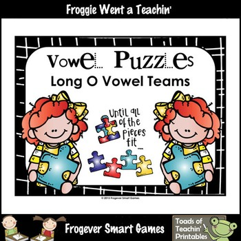CVVC Word Puzzles-- Long O Vowel Teams (OA, OE, OW)