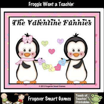 Valentine's Day Freebie--The Valentine Funnies (Valentine'