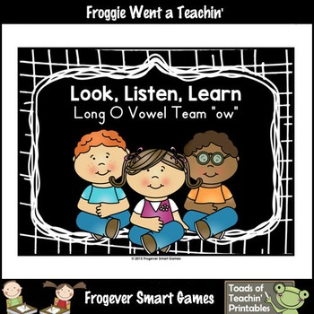Vowel Team Posters--FREE Look, Listen, Learn 4 Additional
