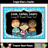 Vowel Team Posters--FREE Look,Listen,Learn 4 More Long O Vowel Team /ow/