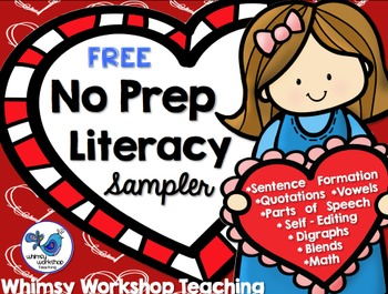 FREE Literacy Sampler Pack