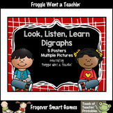 Literacy Teaching Resource--Look, Listen, Learn Digraphs Posters