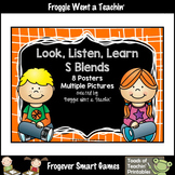 Literacy Teaching Resource--Look, Listen, Learn S Blends Posters