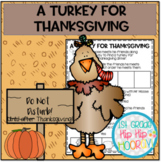 FREE Literacy Companion for A Turkey for Thanksgiving!