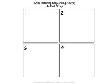 FREE Little Chick Hatching Sequencing Activity