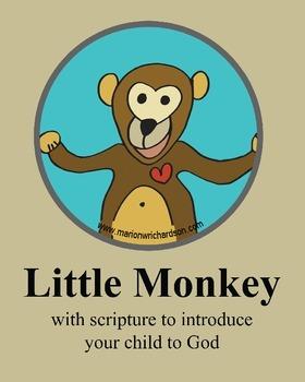 FREE: Little Monkey Christian Children's Book: Bulletin Board Photos