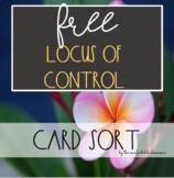 FREE Locus of Control Card Sort