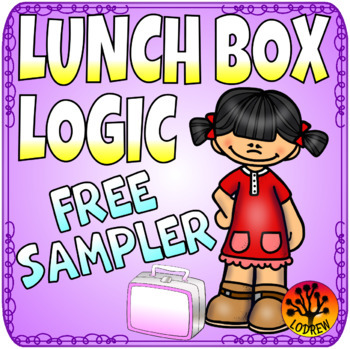 FREE Logic Puzzles Lunch Box Lunchbox Food Centers Activities Brain Teasers