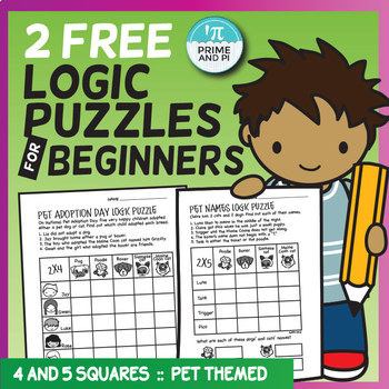 FREE Logic Puzzles for Beginners