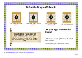 Brain Teaser Puzzles - Free Sampler of Logic and Word Puzzles
