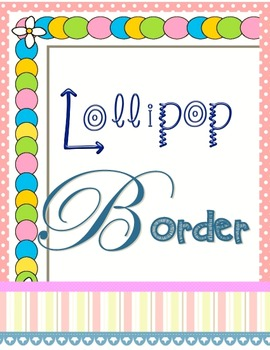 Borders: Candy Colors