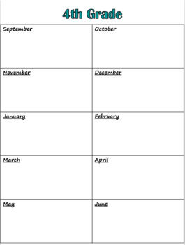 FREE Long Range Planner (Editable)