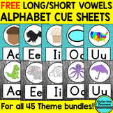 FREE Long/Short Vowel Alphabet Posters Classroom Themes & Decor