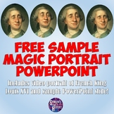 FREE Louis XVI Animated Harry Potter-style Magic Portrait
