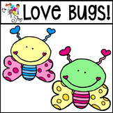 FREE! Love Bugs Clipart