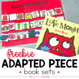 FREE Love Monster Adapted Piece Book Set