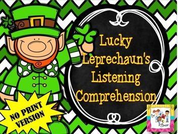 FREE! Lucky Leprechaun's Listening Comprehension