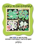 FREE Lucky to be a Family Shamrock Project