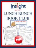 FREE - Lunch Bunch Book Club