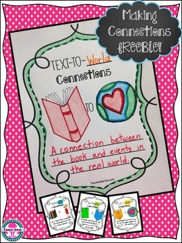 Metacognition teaching resources teachers pay teachers free making connections with text comprehension metacognition freebie fandeluxe Choice Image