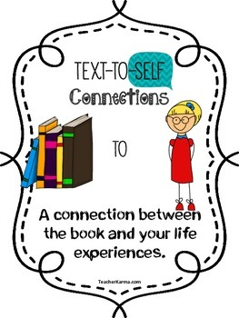 FREE MAKING CONNECTIONS WITH TEXT {Comprehension ~ Metacognition} FREEBIE