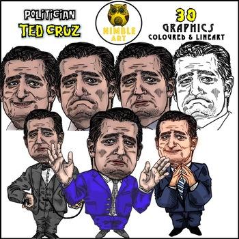 Politician Clipart - Ted Cruz