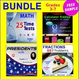 "FREE - MATH BUNDLE Excerpt: ""Comparing Fractions"""