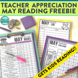 FREE MAY READING RESOURCES for ELEMENTARY TEACHERS