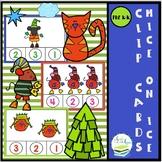 FREE MICE ON ICE CLIP CARDS SET