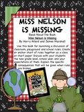 ⭐ FREE ⭐ MINI UNIT: Miss Nelson Is Missing ~ Ideas, Activities, Printables