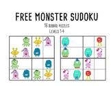 FREE MONSTER SUDOKU