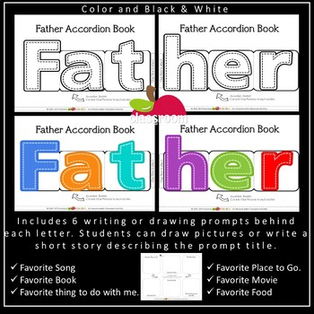 FREE MOTHER'S DAY AND FATHER'S DAY ACCORDION BOOK CRAFTIVITY