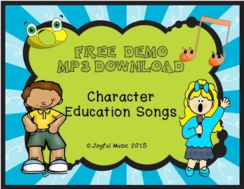 FREE MP3 Download - Character Education Songs DEMO