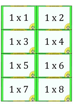 FREE MULTIPLICATION and DIVISION Flashcards