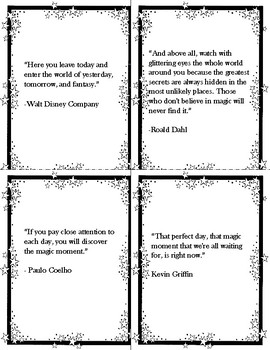 FREE Magic Quotes Notebook