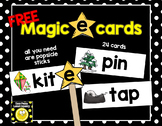FREE Magic 'e' Cards