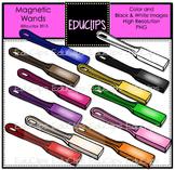 {FREE} Magnetic Wands Clip Art Bundle {Educlips Clipart}