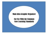 FREE Main Idea Graphic Organizer