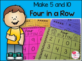 FREE Make 5 and Make 10 Four in a Row