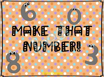 FREE Make That Number: A Place Value Activity!