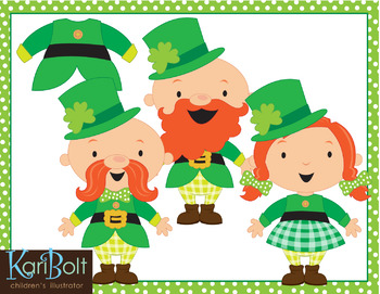 FREE Make Your Own Leprechaun Printable