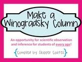 FREE! Make a Winogradsky Column