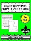 Mapping Louisiana's Government Where I Live--No PREP!