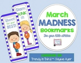 FREE March Madness Bookmarks