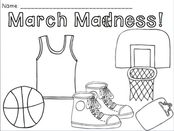 March Coloring Pages Glamorous Free March Madness Coloring Pageskady Did Doodleskady Did Design Ideas