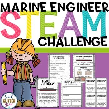 Boat Building STEM Activities - FREE Marine Engineer Challenges