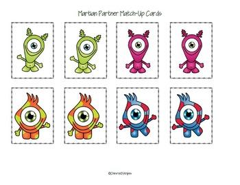 FREE Martian Partner Picking Cards