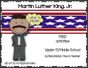 FREE Martin Luther King Day Activities