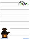 FREE Martin Luther King Journal Writing Paper